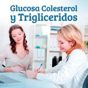Glucosa, colesterol y trigliceridos