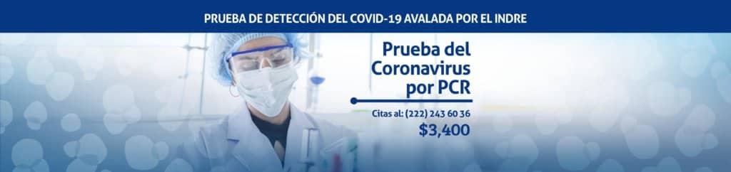 Prueba de Covid-19 por PCR