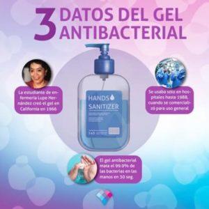 Gel Antibacterial: Mitos y realidades.