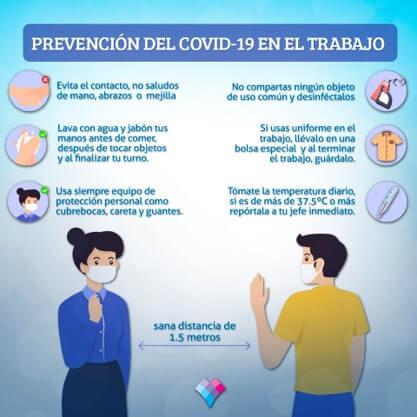 Prevención en el trabajo Covid-19 Linfolab