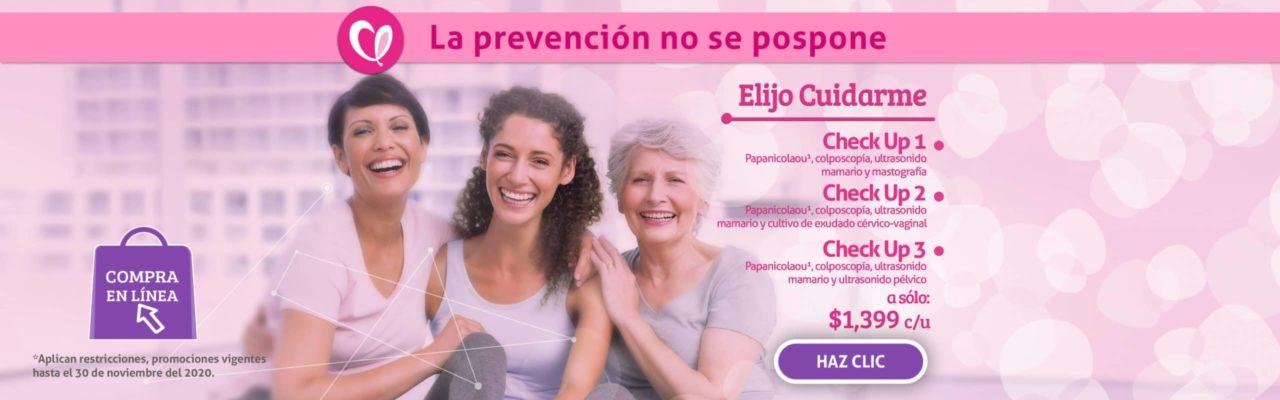 Elijo Cuidarme Linfolab Mujer Promocion