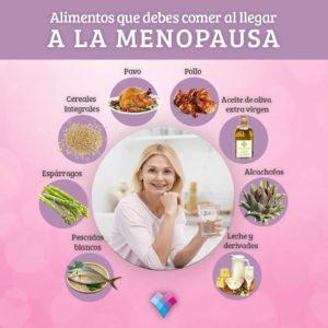 Menopausia: Cuida tu alimentación