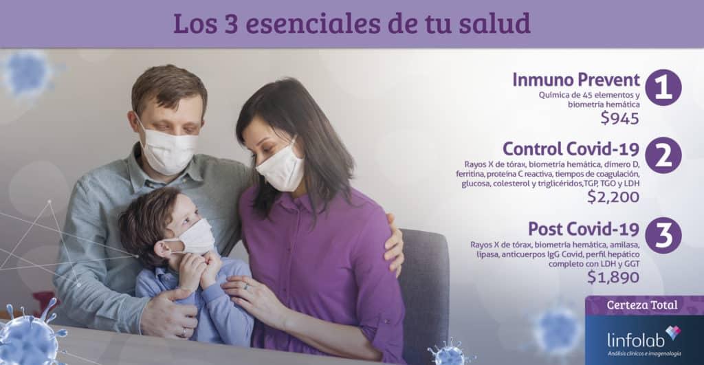 Los 3 esenciales de tu salud Linfolab