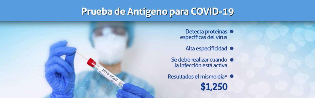Prueba Antígeno Covid-19 Puebla Linfolab