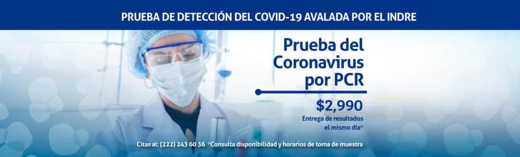 Covid-19 PCR Prueba Linfolab